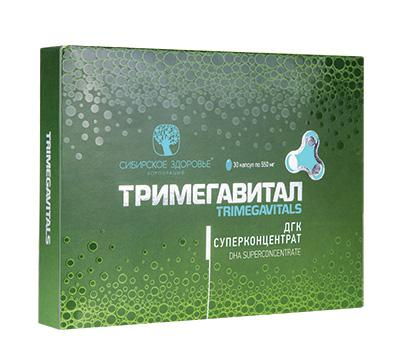 Тримегавитал. ДГК Суперконцентрат Trimegavitals. DHA Superconcentrate