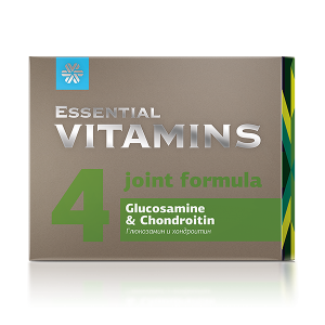 Глюкозамин и хондроитин Essential Vitamins
