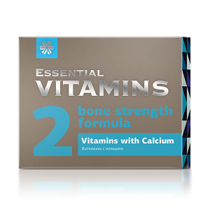 Витамины с кальцием Essential Vitamins